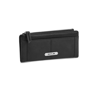 Lds Fairweather black slim clutch
