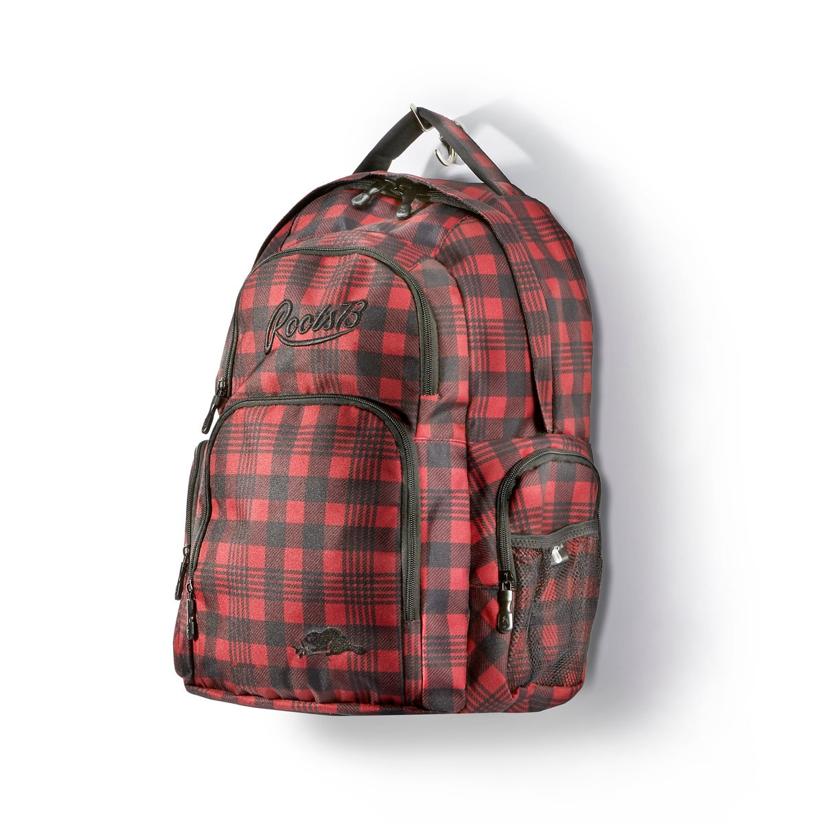 Unisex Roots73 red/black backpack