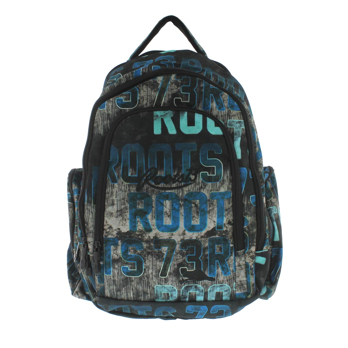 Unisex Roots73 blue print backpack