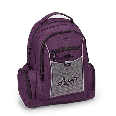 Roots Unisex RTS4402 ROOTS73 purple backpack