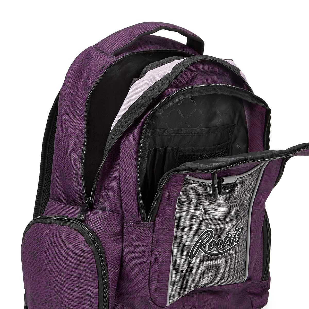 Roots73 purple backpack