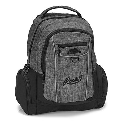 Roots73 grey multi use backpack