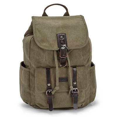 Roots73 khaki backpack
