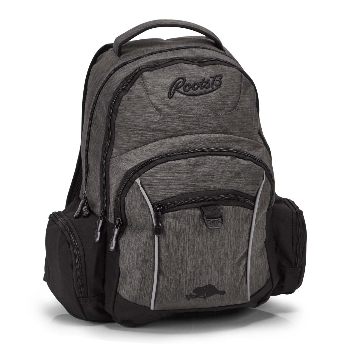 Roots73 grey large backpack