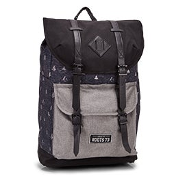 Roots Unisex RTS4611 grey tree backpack