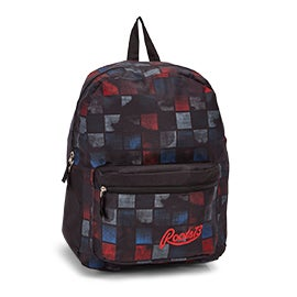 Roots Women's RTS4620 red/blue plaid backpack