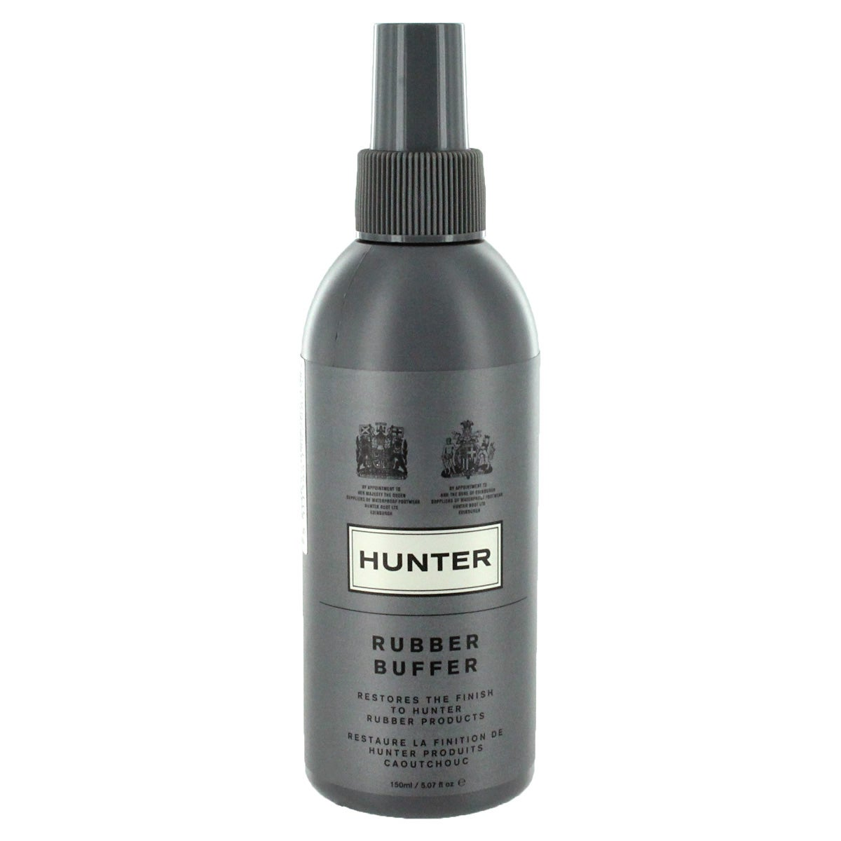 Hunter rubber buffer spray
