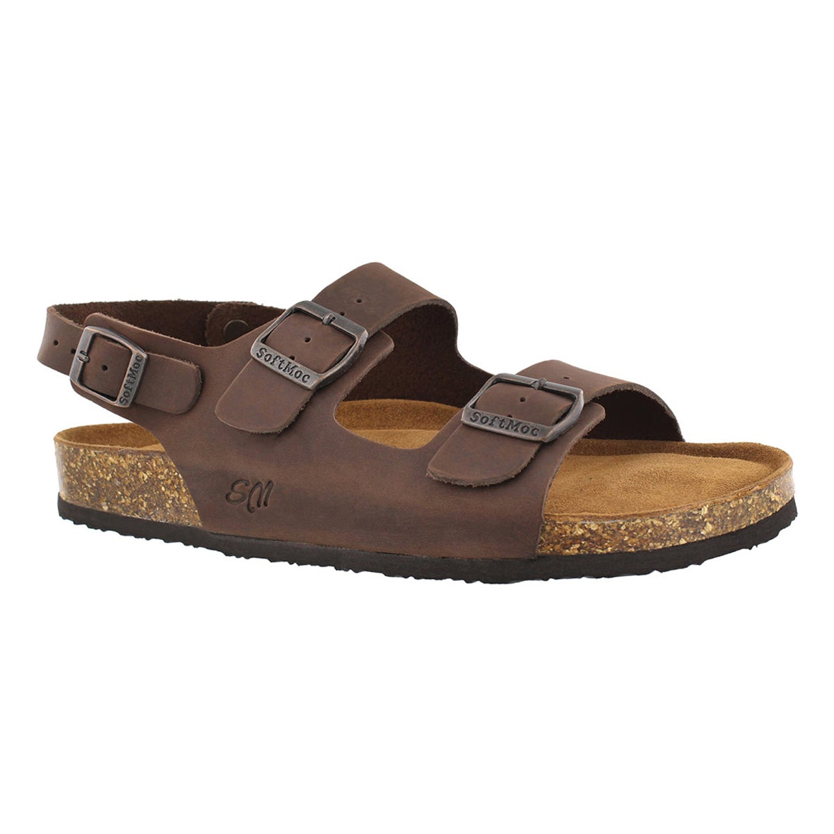 Men's RUBEN 5 brown memory foam sandals