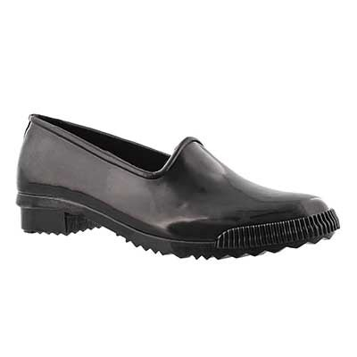 Cougar Women's RUBY black gloss rubber loafers