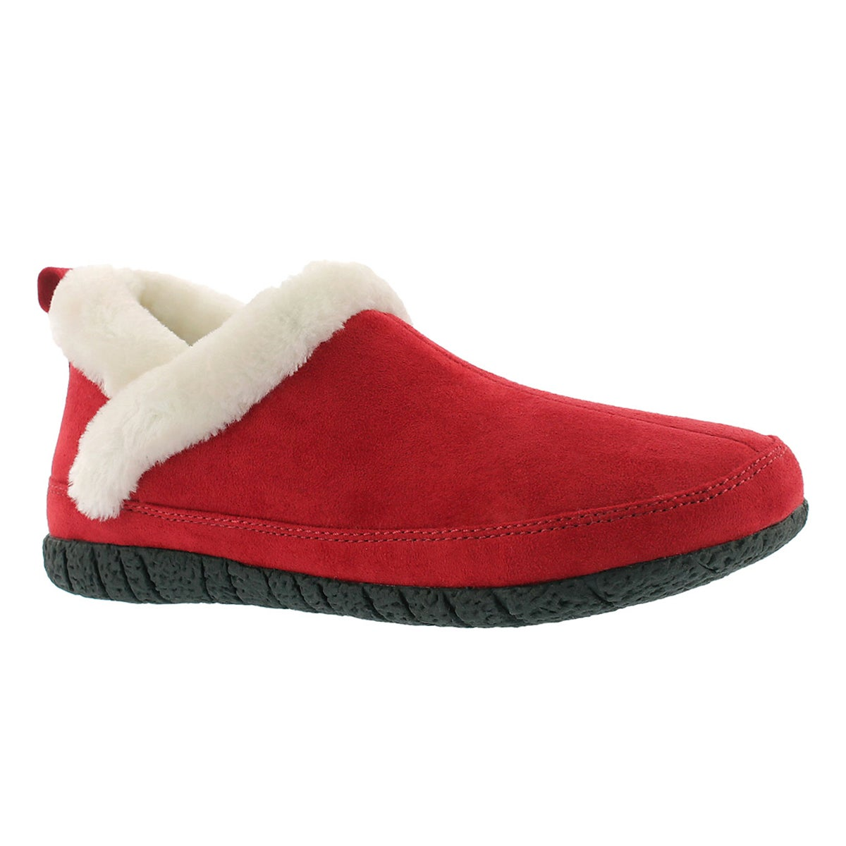 Lds Ruby 2 burgundy closed back slipper