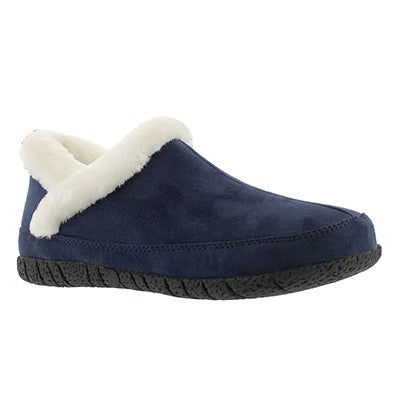 Foamtreads Women's RUBY 2 navy closed back slippers