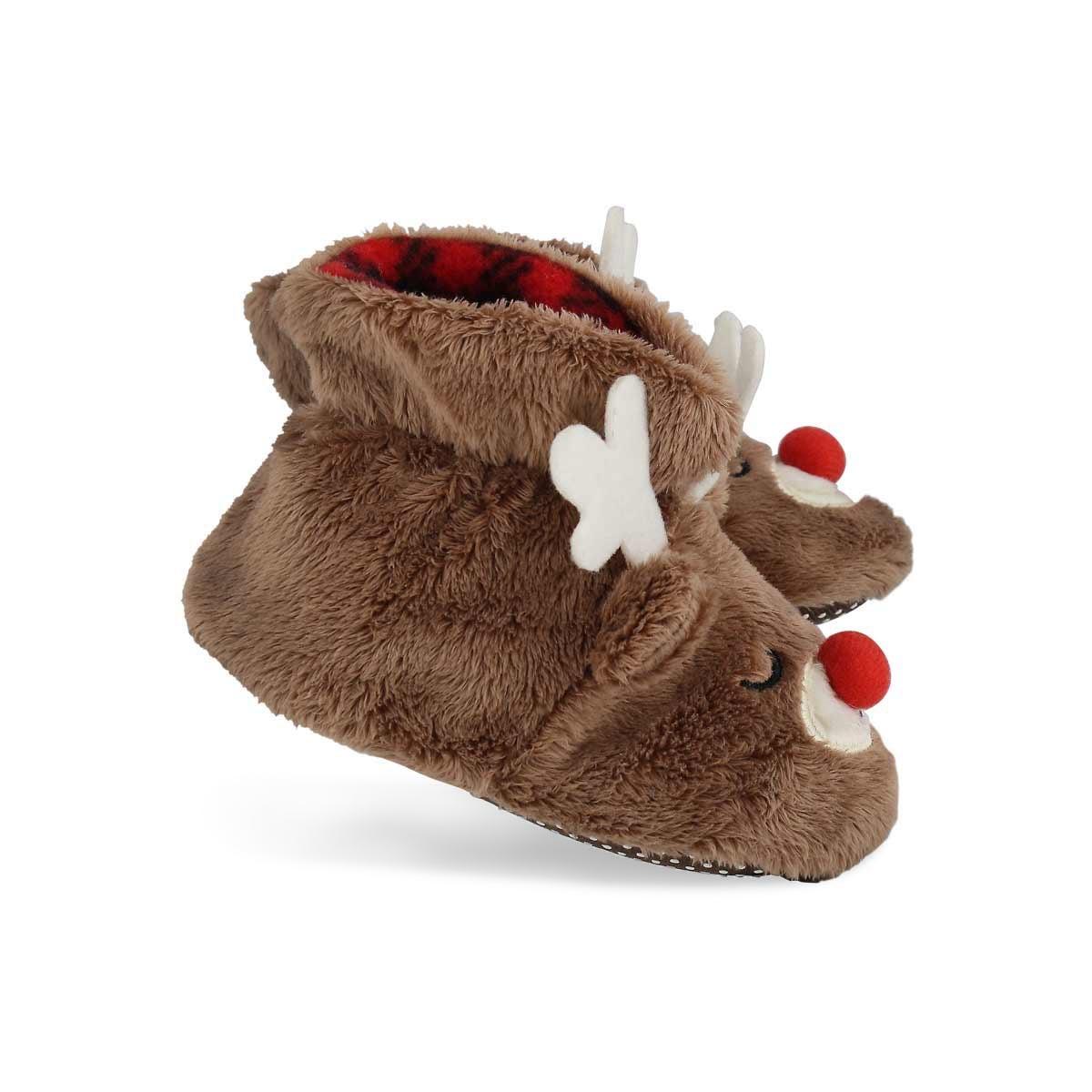 Infs Rudy tan slipper booties