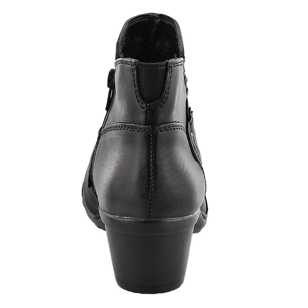 Lds Ruthie black short dress bootie
