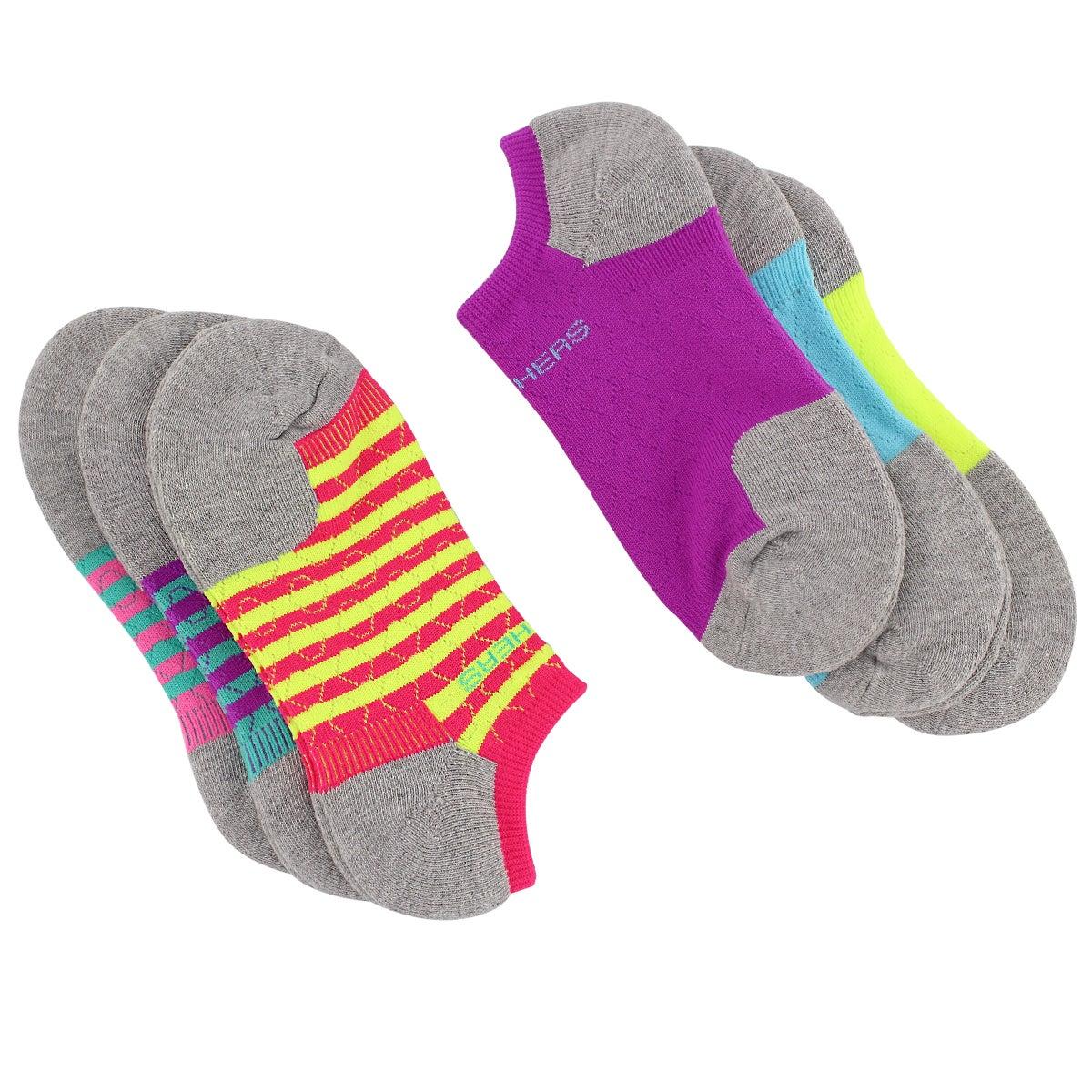 Socquettes Select Cushion, multi, fem-6p