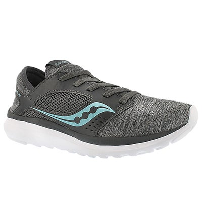 Saucony Women's KINETA RELAY grey running shoes