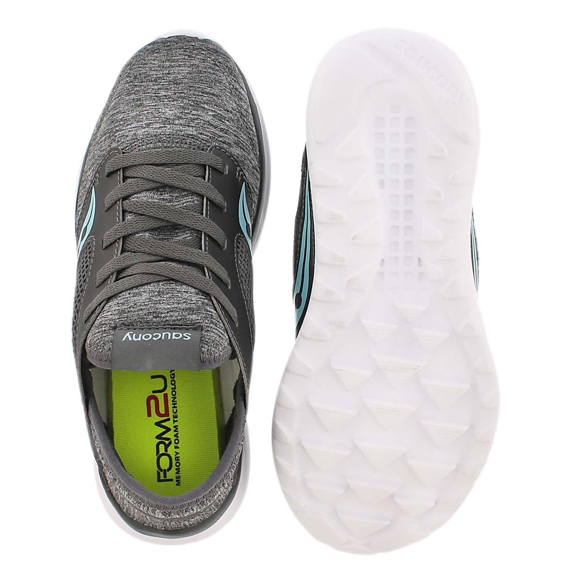 Lds Kineta Relay grey running shoe