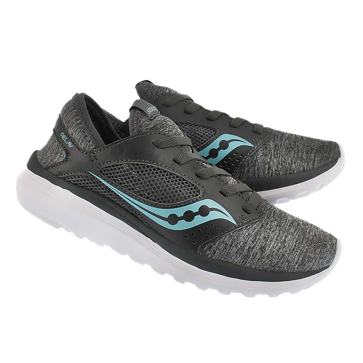 Chaussures course KinetaRelay, gris, fem