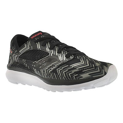 Saucony Women's KINETA RELAY black chevron running shoes