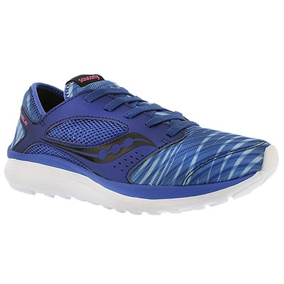 Saucony Women's KINETA RELAY blue print running shoes