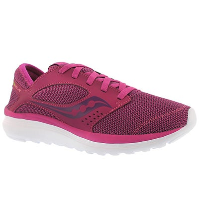 Saucony Women's KINETA RELAY fuschia running shoes
