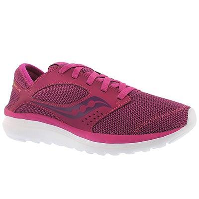 Lds Kineta Relay fuschia running shoe