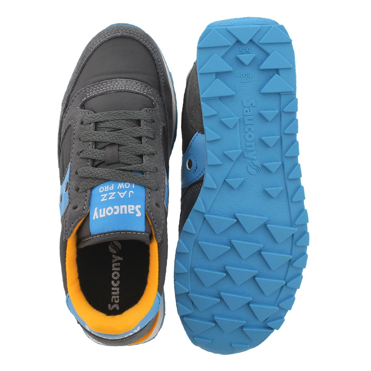 Lds Jazz Low Pro char lace up sneaker