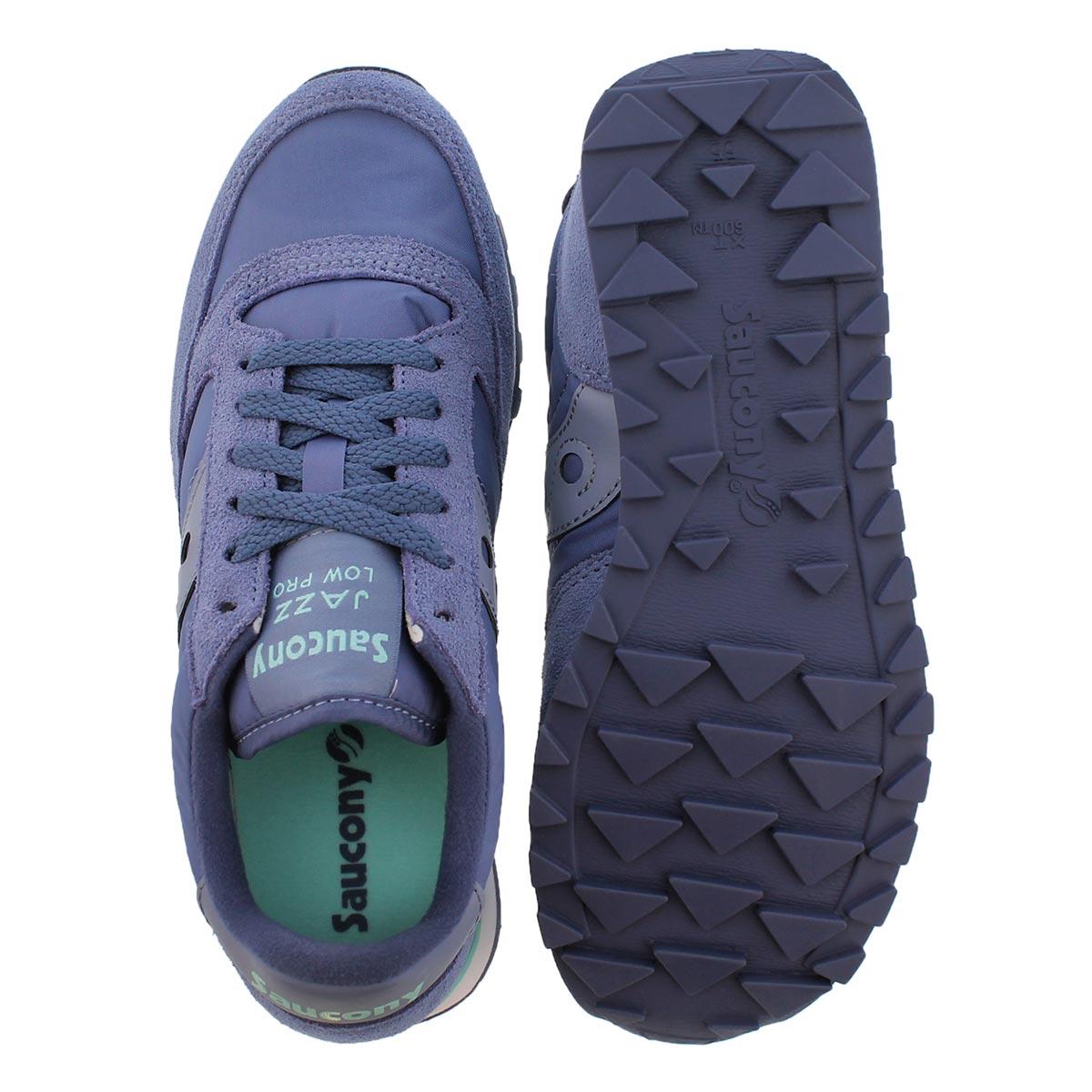 Lds Jazz Low Pro ppl lace up sneaker
