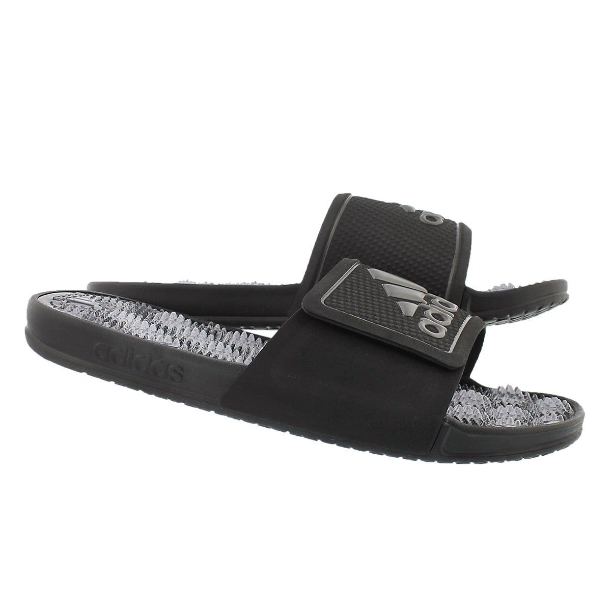 Mns Adissage 2.0 blk/wht slide sandal
