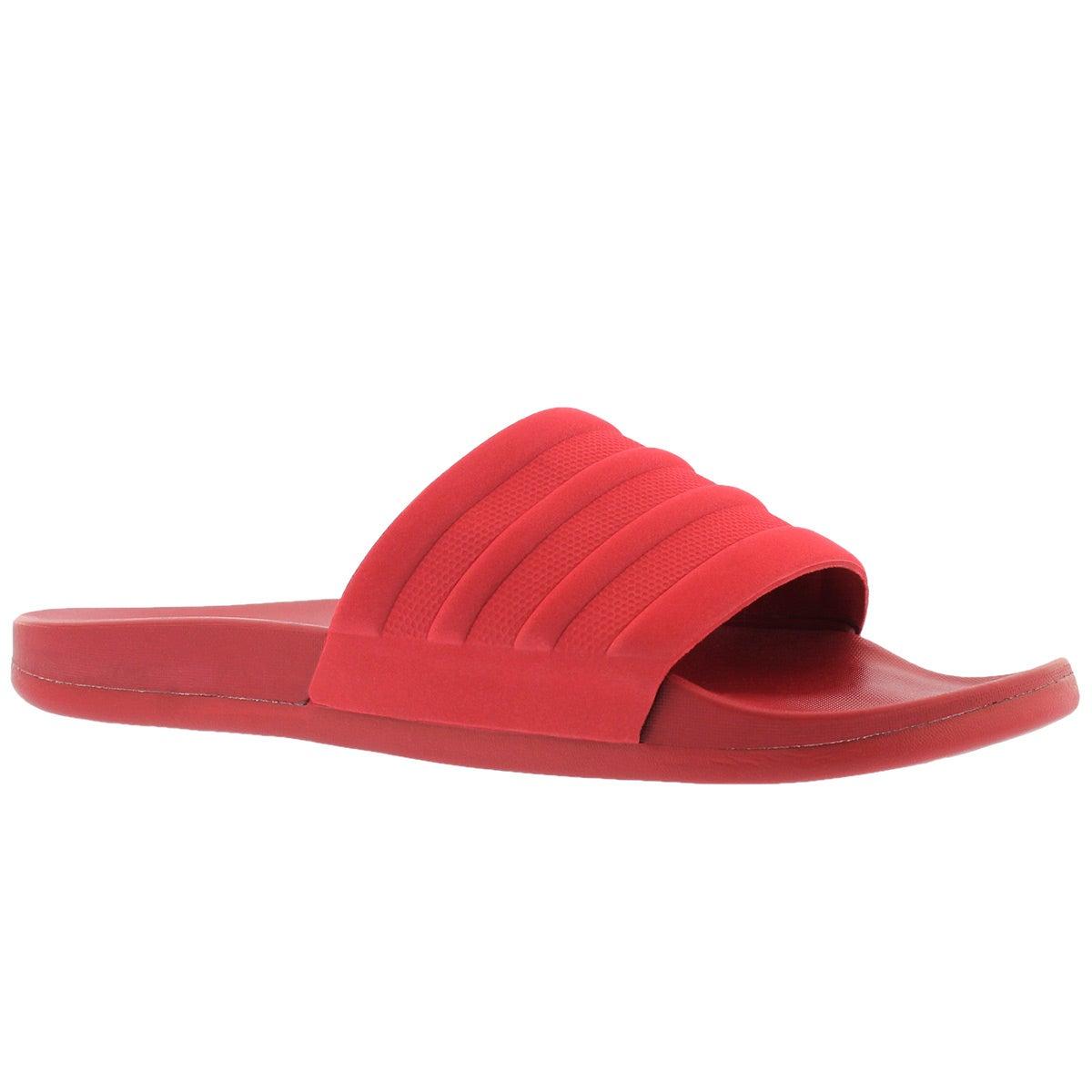 red adidas slides