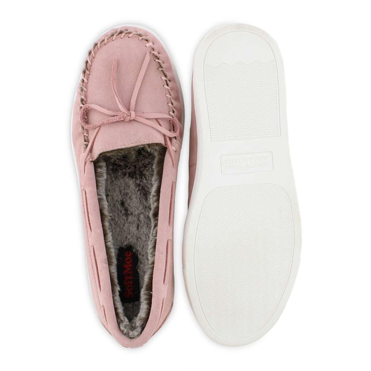 Lds Saginaw pink ballerina moc