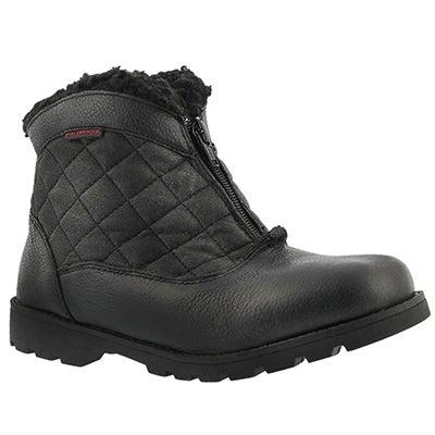 SoftMoc Women's SALENA 2 black waterproof ankle boots