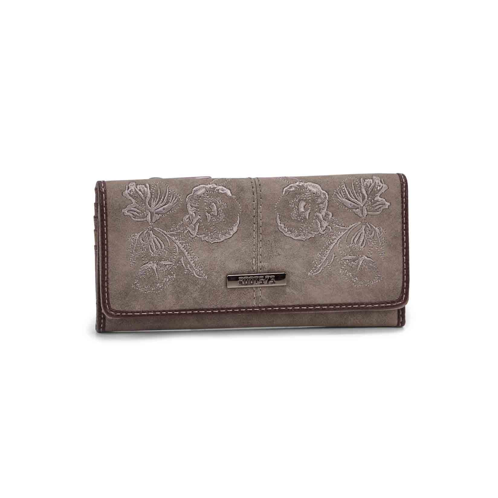 Women's SALOON taupe wallet