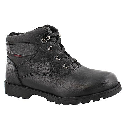 Lds Samantha 2 black wtrpf lace-up boot