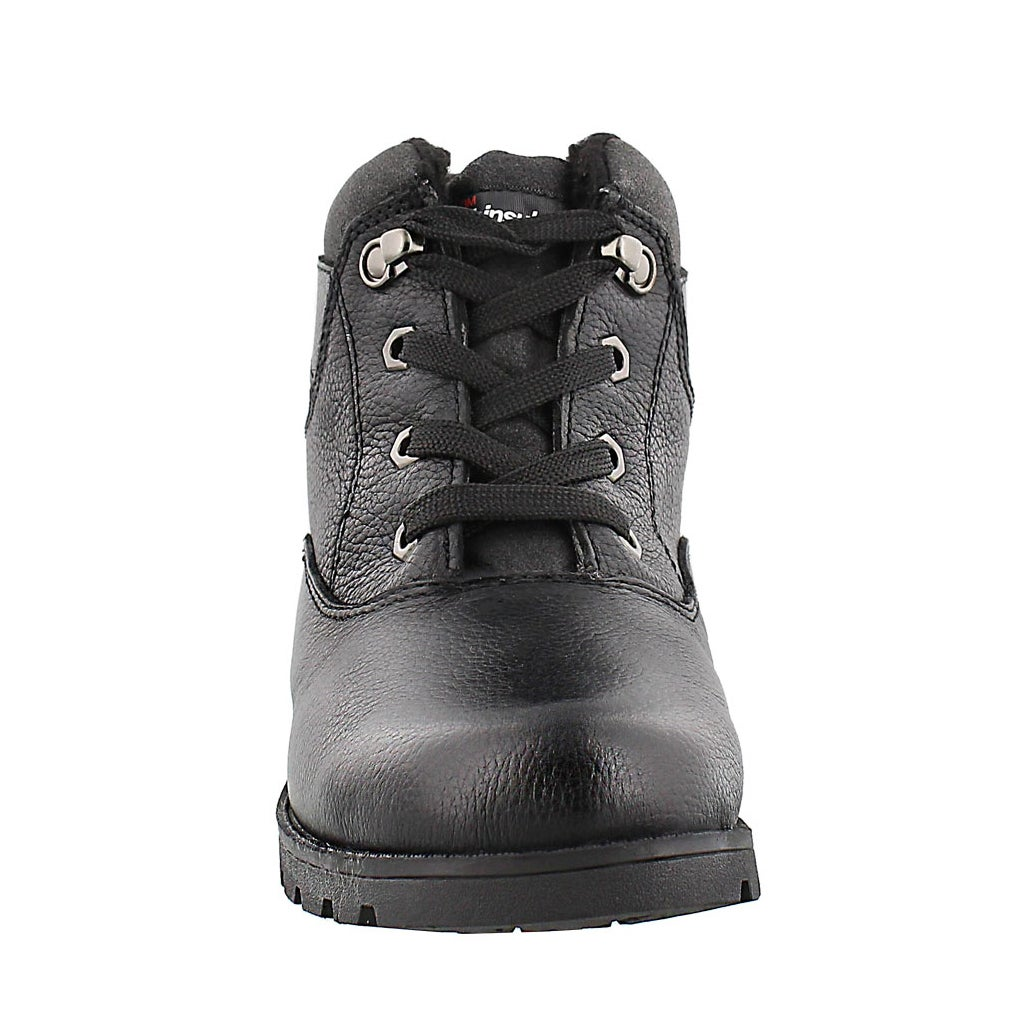 Lds Samantha 2 black wtrpf lace-up boot