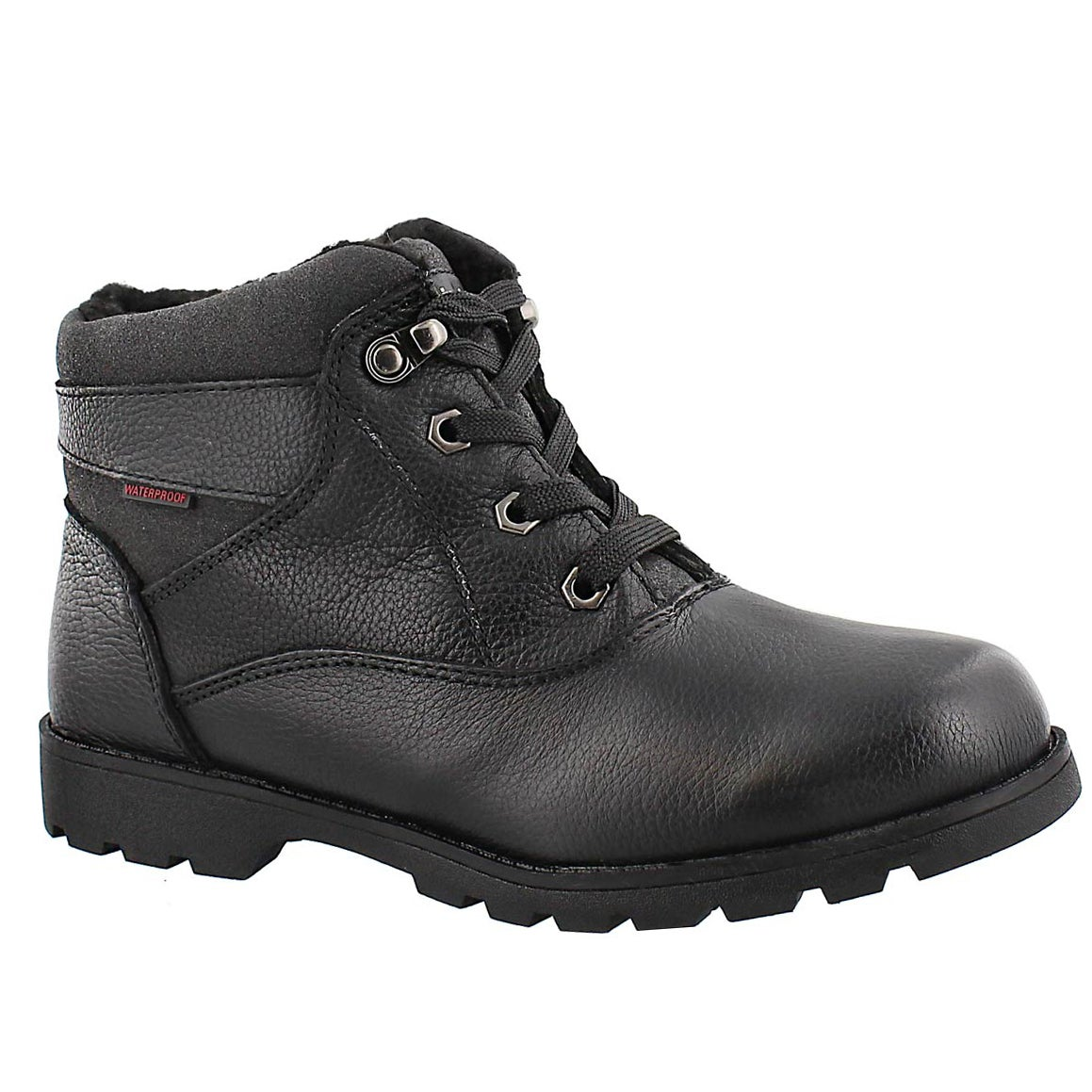 Women's SAMANTHA 2 black waterproof lace-up boots