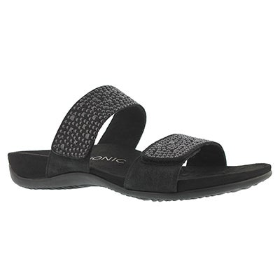 Lds Samoa black arch supprt slide sndl