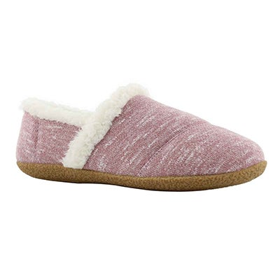 Lds Samone pink memory foam slipper