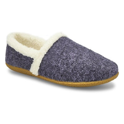 Lds Samone 2.0 blue closed back slipper