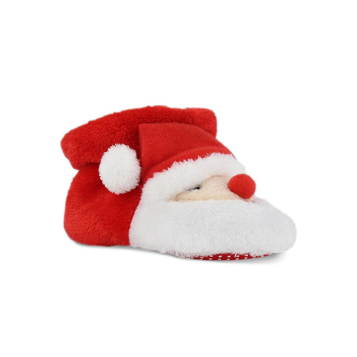 Infs Santy red slipper booties