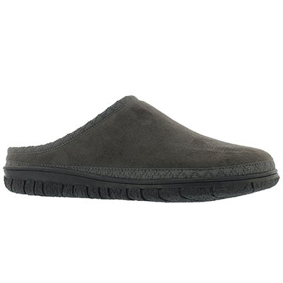 Lds Saturn grey memory foam slipper