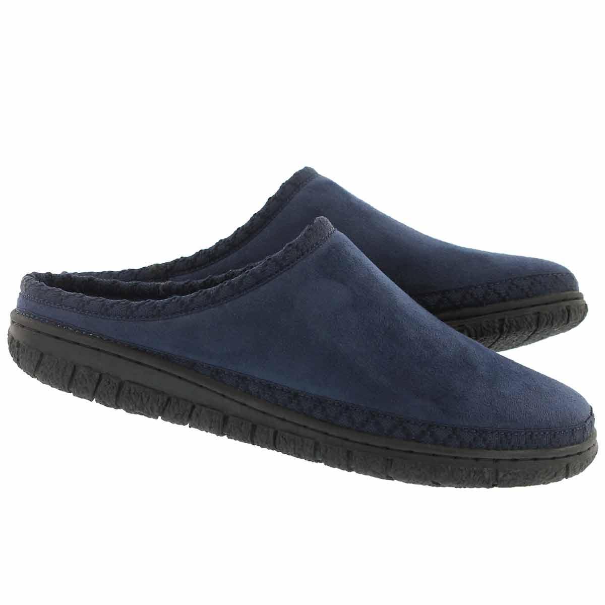 Lds Saturn nvy memory foam slipper