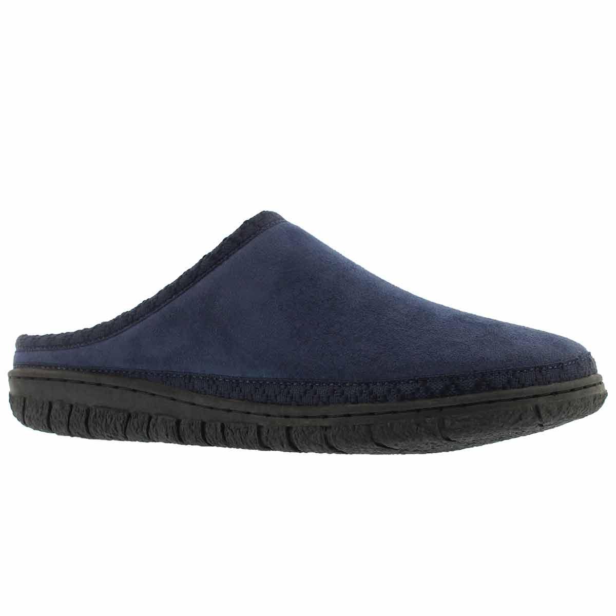 Women's SATURN navy memory foam slippers