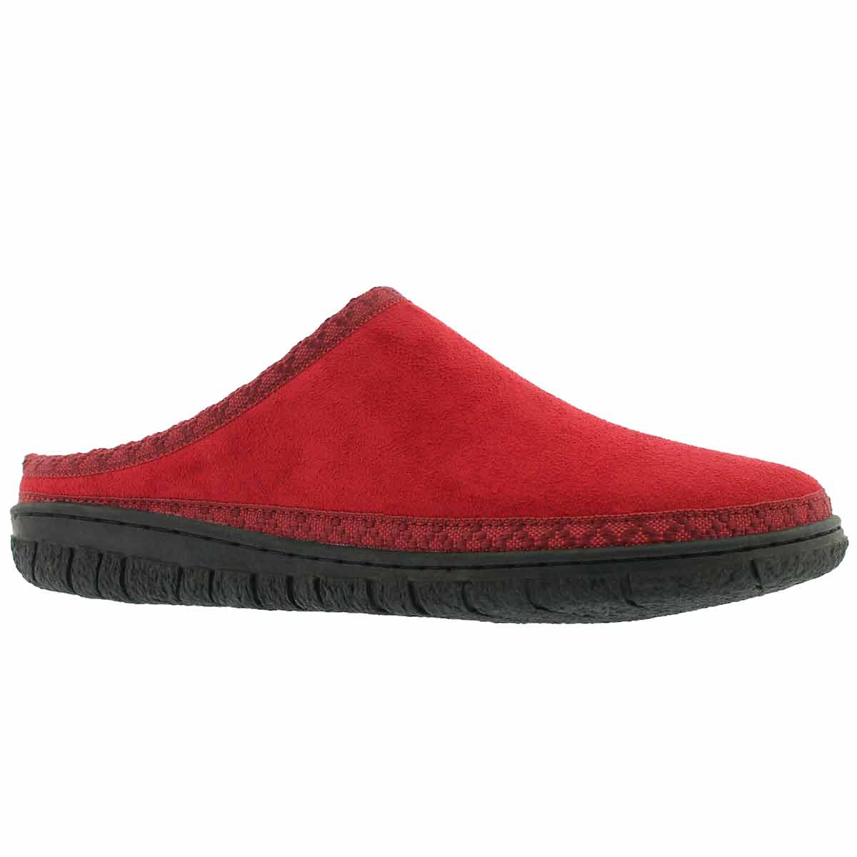 Women's SATURN red memory foam slippers