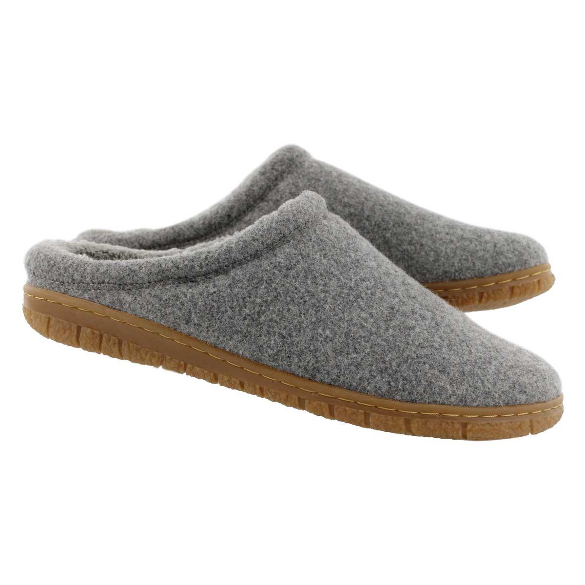 Lds Saturn 2 grey memory foam slipper