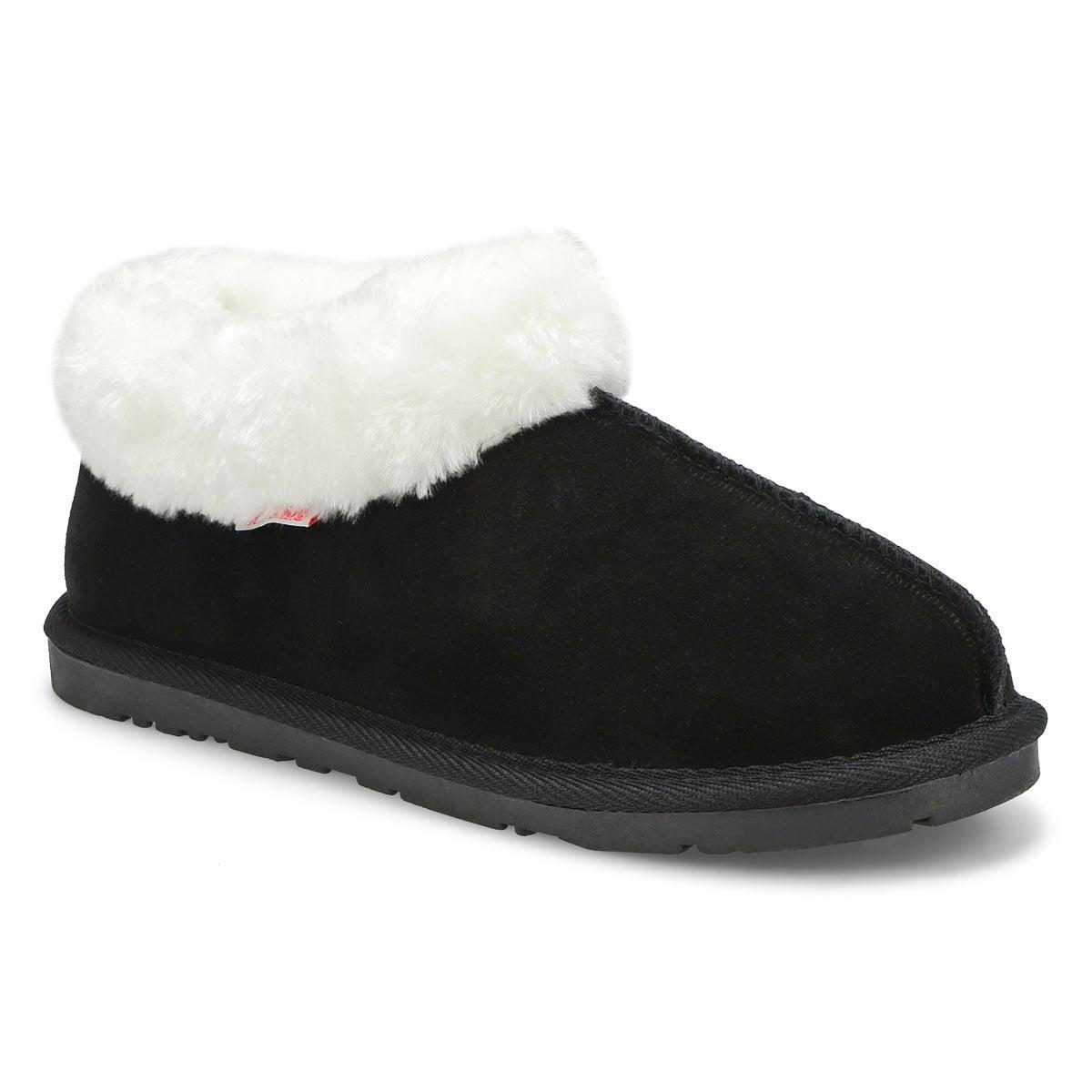 Women's SAVANNA  black suede booties