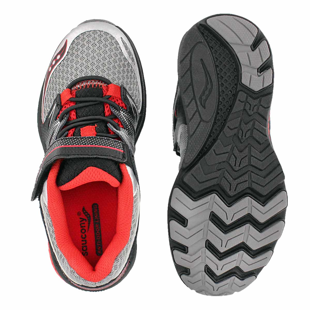 Bys Zealot 2 gry/red running shoe