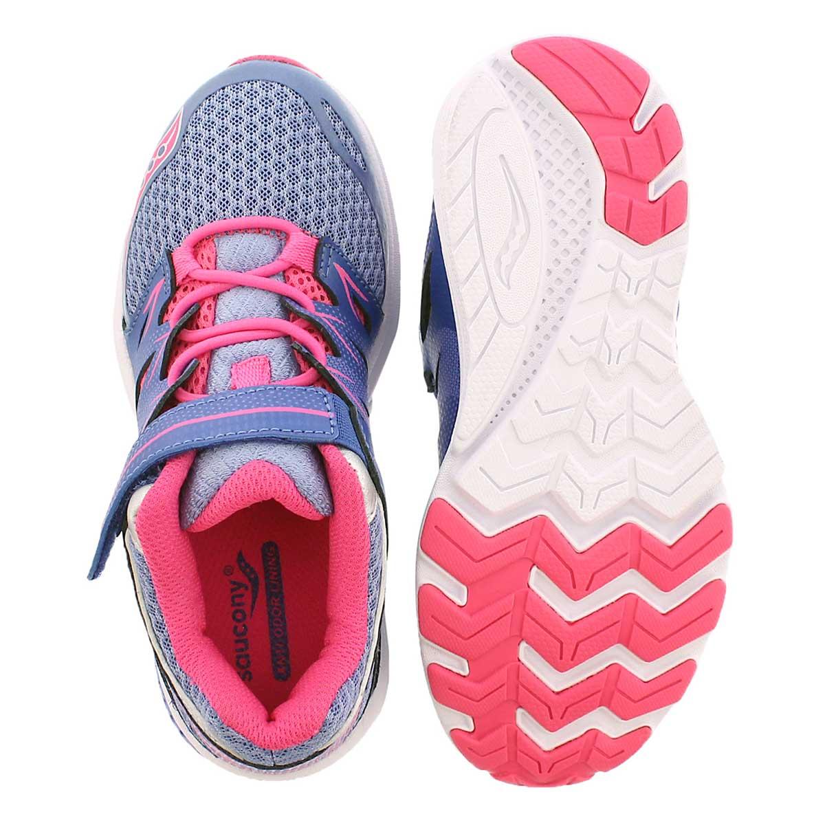 Grls Zealot 2 periwinkle running shoe