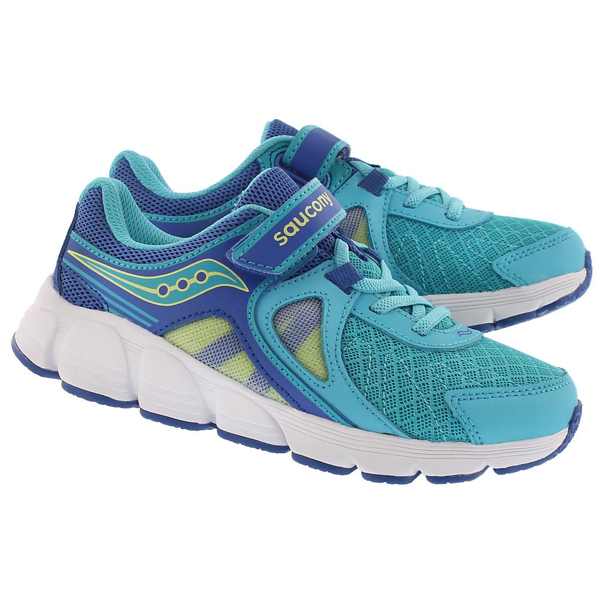 Grls Kotaro 3 turq/citron running shoe