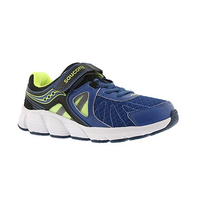 Saucony Boys' KOTARO 3 black/blue running shoes