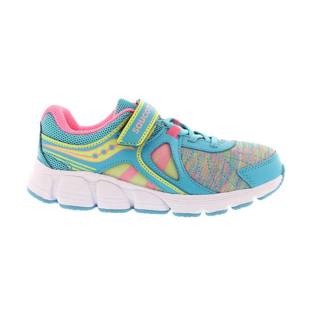 Grls Kotaro 3 AC turq/mlti running shoe